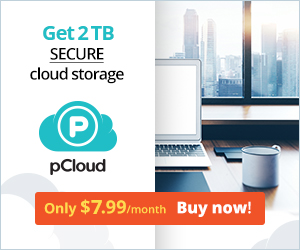 pCloud Free 10GB & just $3.99/month